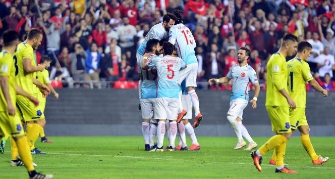 Milliler siftah yaptı! Türkiye 2-0