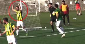 """""""Allah büyüktür"""" dedi futbolcu ceza aldı"""