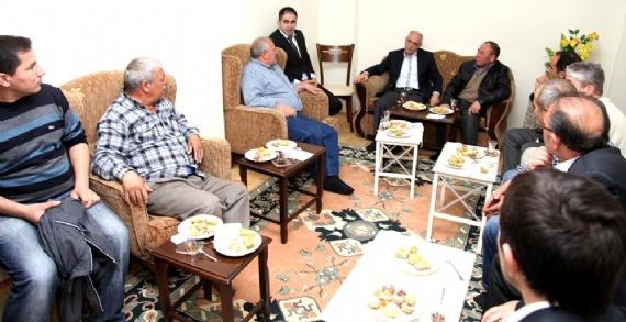 Başkan Akbaş, ev ziyaretlerine devam ediyor!