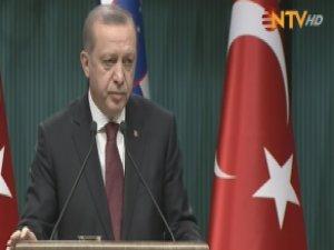 Cumhurbaşkanı Erdoğan: Bin 150 Sivil ve Yaralı İdlib'e Tahliye Edildi