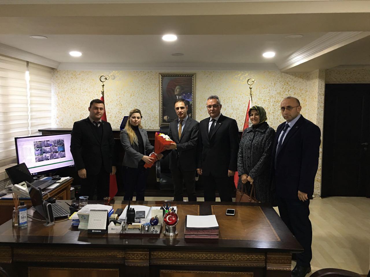 Türk Eğitim Sen'den taziye ziyareti