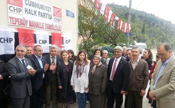 CHP'li Kaplan temsilcilik açtı