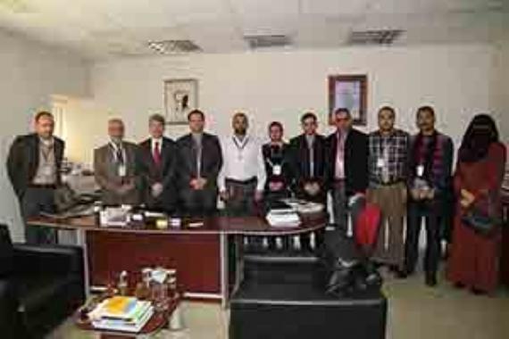 Filistinli yöneticiler yeni sistemleri inceledi