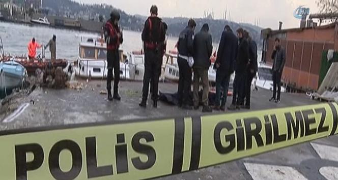 Kuruçeşme sahilinde yürüyüşe çıkan vatandaşlara ceset şoku