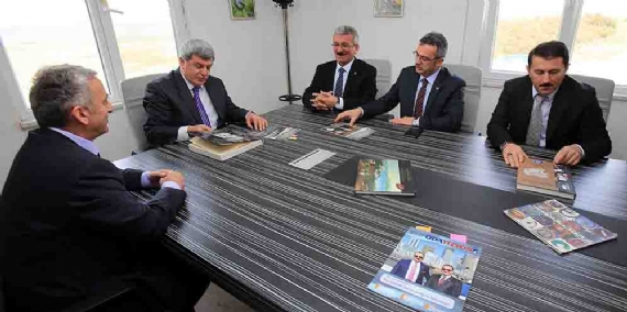 Karaosmanoğlu Marmara Galvaniz'e konuk oldu