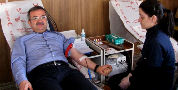 Birlikte kan bağışı!