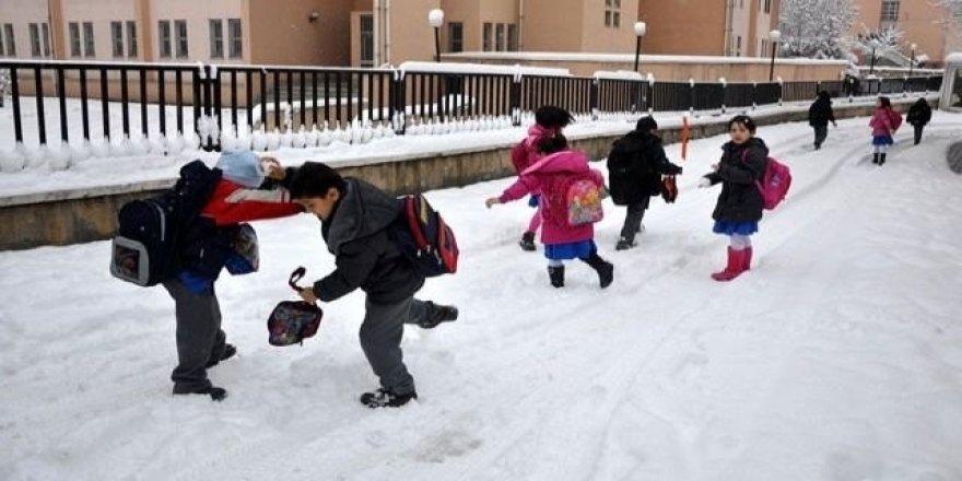 İşte 11 Ocak Çarşamba Günü Okulların Tatil Edildiği İller
