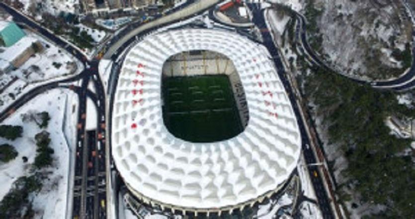Vodafone Arena'yı görenler gözlerine inanamadı!