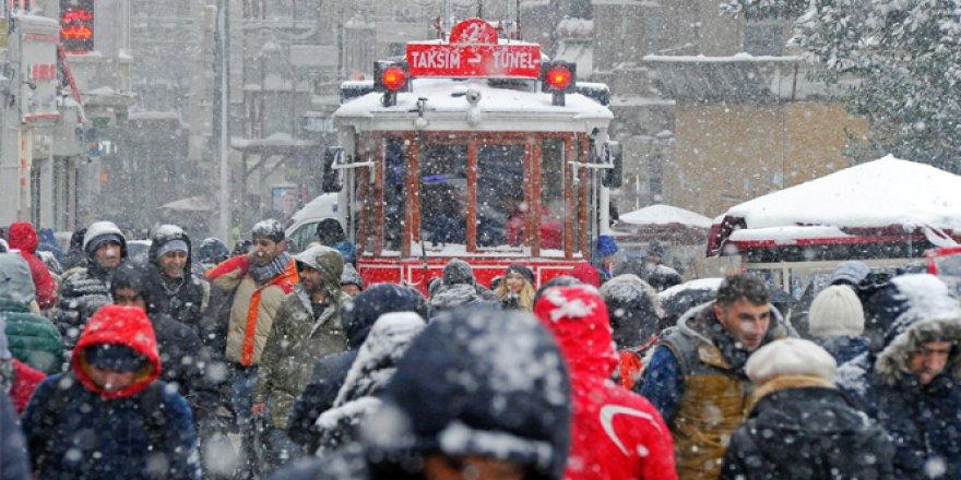 Meteoroloji'den İstanbul için 'kar yağışı' uyarısı