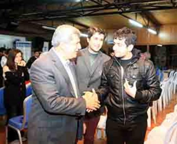 Gençler Başkan'ı can kulağıyla dinledi