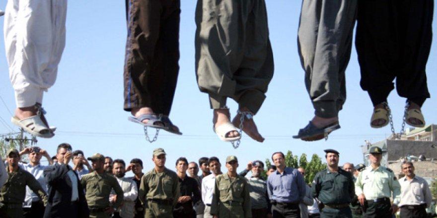 İran'da 2 Günde 20 Mahkum İdam Edildi