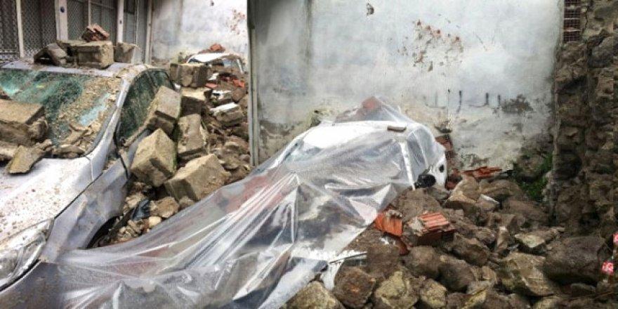 İzmir'in Kemeraltı Çarşısında Facianın Eşiğinden Dönüldü