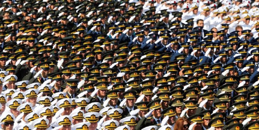 243 TSK personeline gözaltı kararı