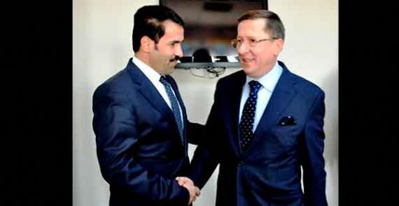 Başkan'a Türkkan'dan ziyaret