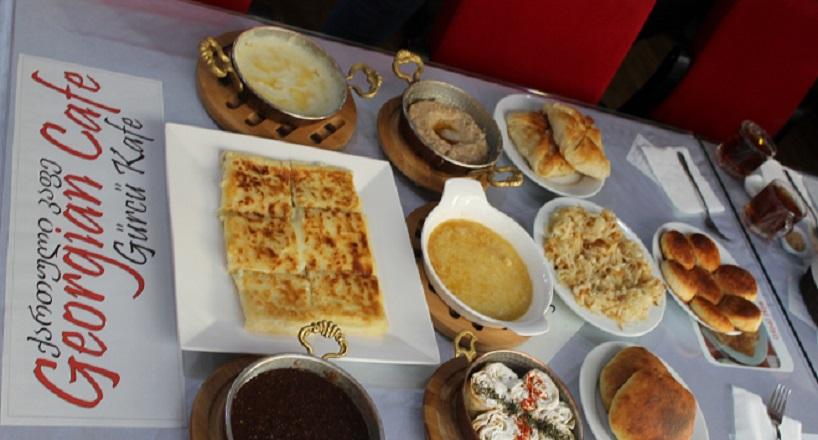 Gürcü mutfağına özel lezzetler