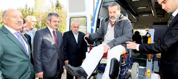Engellilere Gebze'de ulaşım kolaylığı