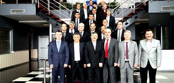 Gaziantepli yöneticiler projeleri gezdi