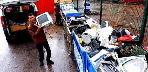 5 yılda 96 ton elektronik atık toplandı