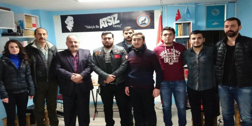 Türk Ocağından Atsız Kültür Evine Ziyaret