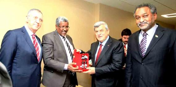Sudan heyetinden Başkan'a ziyaret