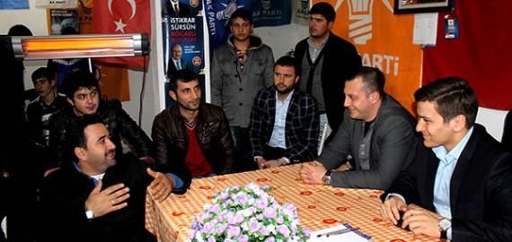 AK Gençler Gebze'de çalışmalar yaptı