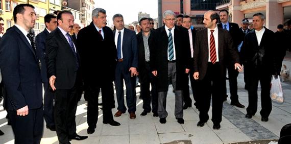 Başkan Doğan Karaosmanoğlu ile turda
