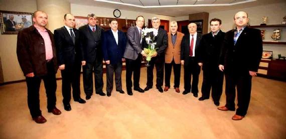 Başkan'a MÜSİAD heyeti ziyaret