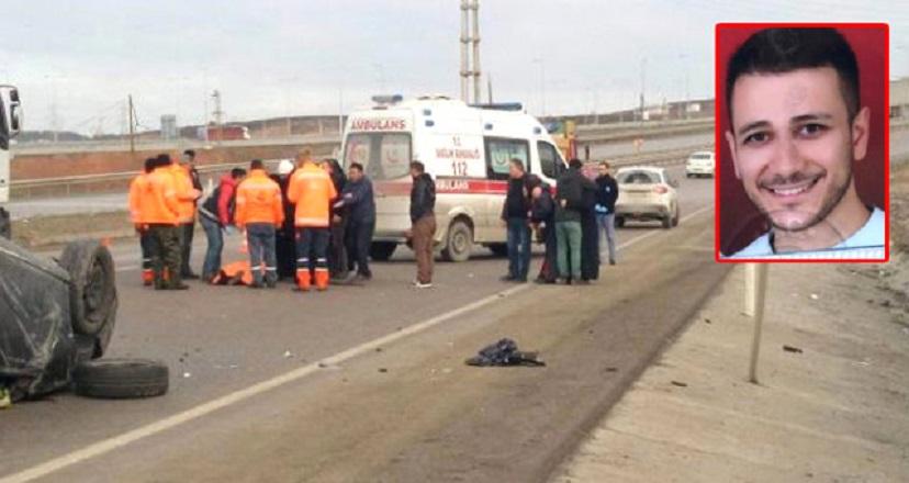 Sancaktepe'de korkunç kaza! Yakınları sinir krizi geçirdi