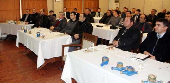 İSU personeline sayaç teknolojisi eğitimi verildi