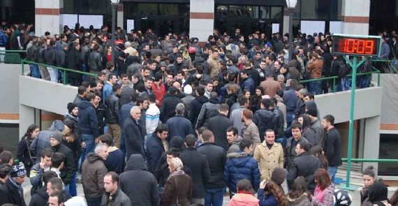 300 kişilik kadro için 3 bin kişi başvurdu