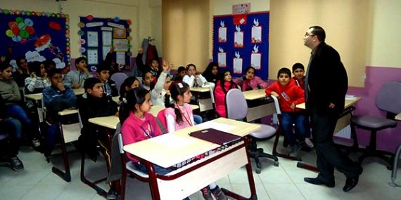 Bilgievi öğrencilerine çevre eğitimi verildi