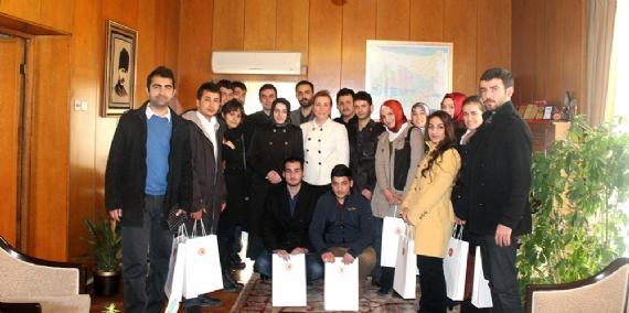 Türk Talebe Birliği'nden meclise ziyaret