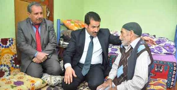 Başkan Yaman yaşlıları unutmadı