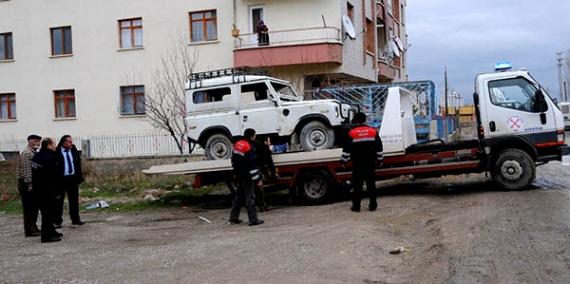 200 hurda araç toplandı