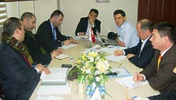 TÜMSİAD bölge komisyonu Sakarya'da toplandı