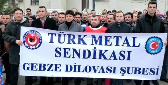Türk Metal'den BMC işçilerine destek