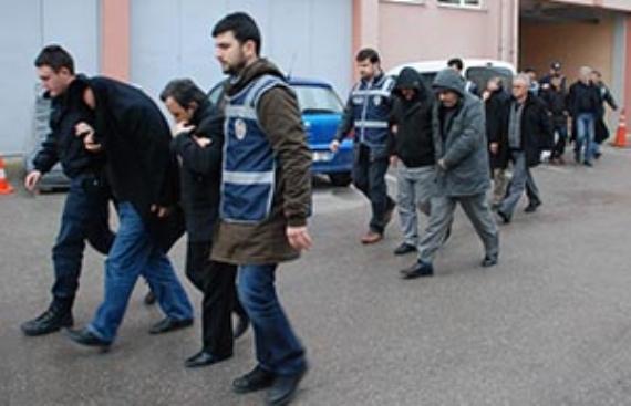 Silah kaçakçılığında 10 tutuklama