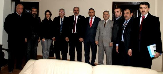 Erzurumlular'dan gazetemize ziyaret