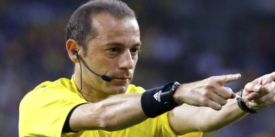 UEFA'dan Çakır'a beklenmedik darbe