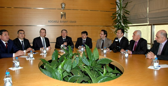 Kazakistan Heyeti KSO'yu ziyaret etti