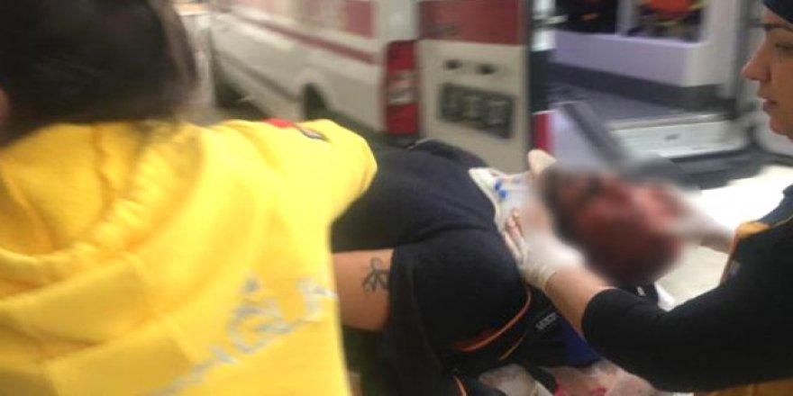 Köpeğini polislerin üzerine salıp kaçarken kanlar içinde yere yığıldı