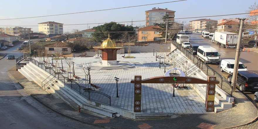 Şekerpınar Semt Meydanı hizmete açıldı