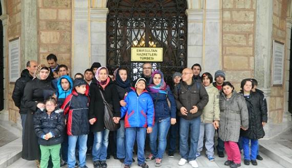 KEREM'in Gençleri Bursa'da stres attı