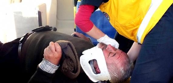 Otobanda zincirleme trafik kazası: 5 kişi yaralı