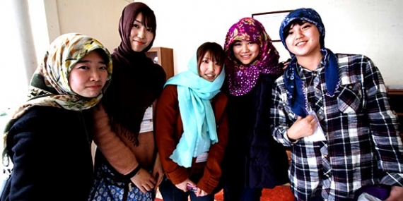 Japon öğrenciler Kocaeli'ne hayran kaldı
