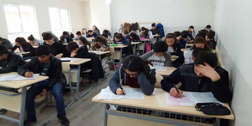 Bilgievleri'nde sınav heyecanı yaşandı