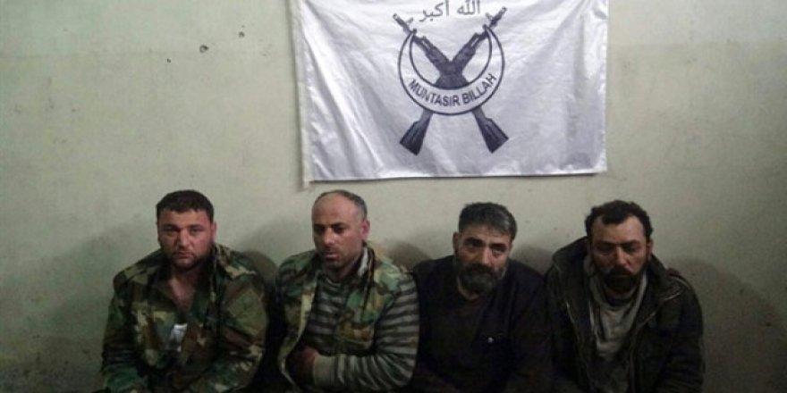 Türkmen Tugayı Suriye'de 4 Esad Subayını Esir Aldı