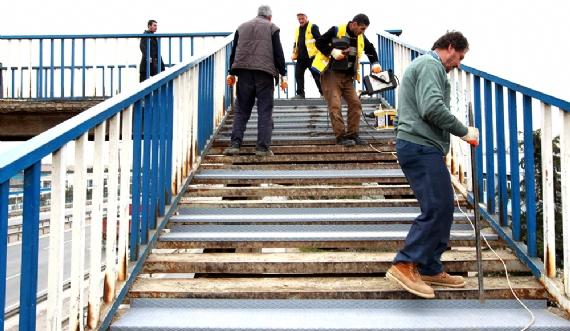 FEN-İŞ köprüsü bakıma alındı