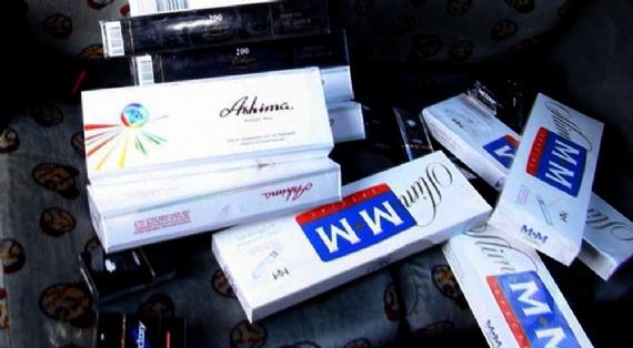 1 ayda 50 bin paket kaçak sigara yakalandı