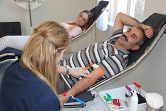 SEDAŞ personeli kan bağışladı